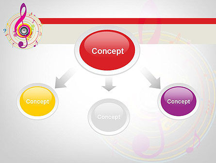 Violin Key PowerPoint Template, Slide 4, 11875, Art & Entertainment — PoweredTemplate.com