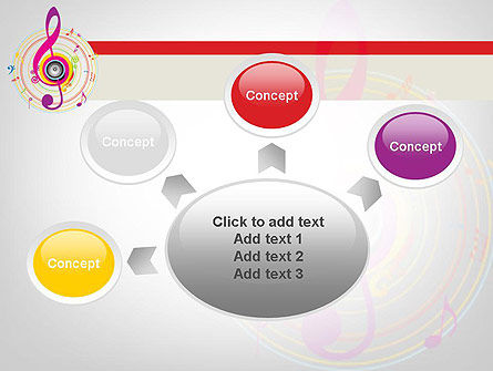 Violin Key PowerPoint Template Slide 7