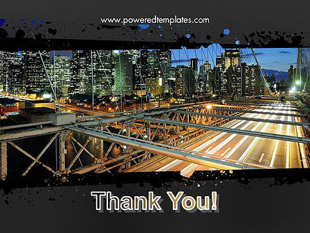 Brooklyn Bridge New York PowerPoint Template Slide 20