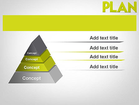 Word PLAN PowerPoint Template Slide 12