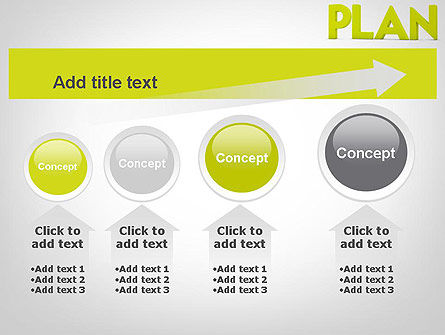 Word PLAN PowerPoint Template Slide 13