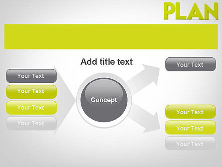 Word PLAN PowerPoint Template Slide 14