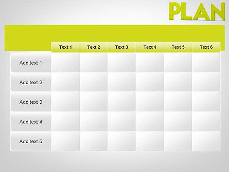 Word PLAN PowerPoint Template Slide 15