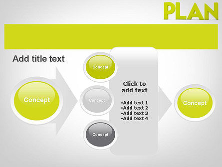Word PLAN PowerPoint Template Slide 17