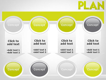 Word PLAN PowerPoint Template Slide 18