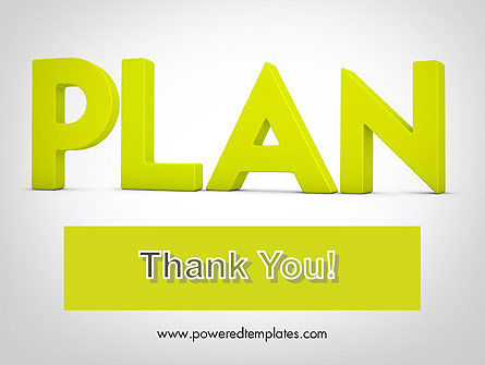 Word PLAN PowerPoint Template Slide 20