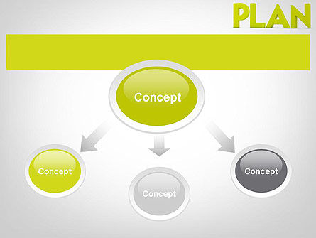 Word PLAN PowerPoint Template, Slide 4, 11882, Business Concepts — PoweredTemplate.com