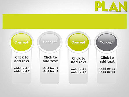 Word PLAN PowerPoint Template Slide 5