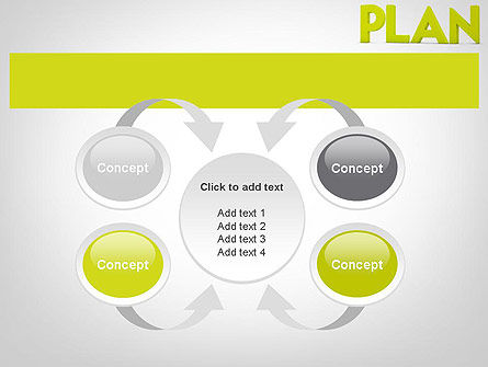 Word PLAN PowerPoint Template Slide 6