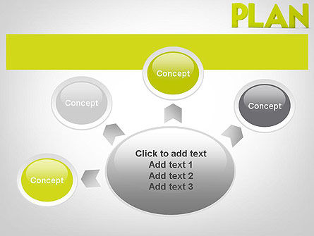 Word PLAN PowerPoint Template Slide 7