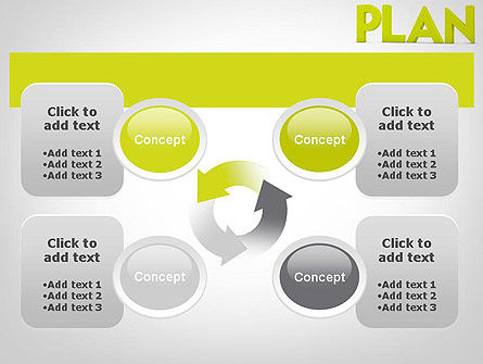 Word PLAN PowerPoint Template Slide 9