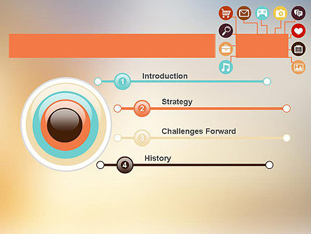 Interface Buttons PowerPoint Template, Slide 3, 11884, Technology and Science — PoweredTemplate.com
