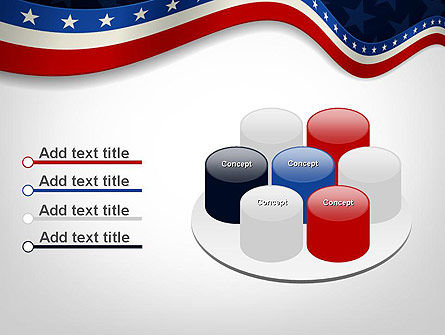 July 4th Banner PowerPoint Template Slide 12