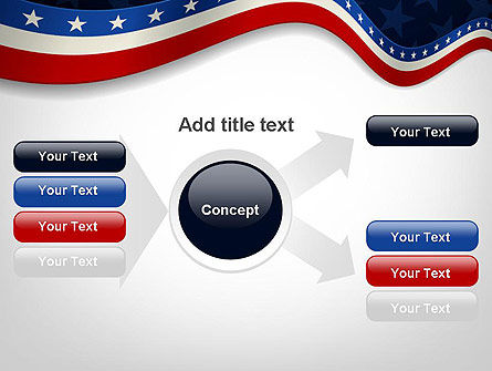 July 4th Banner PowerPoint Template Slide 15