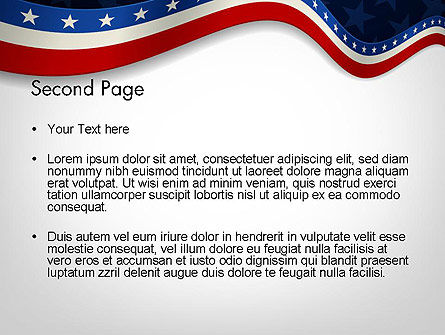 July 4th Banner PowerPoint Template Slide 2