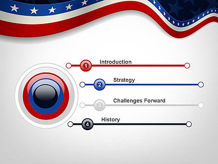 July 4th Banner PowerPoint Template Slide 3