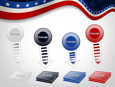 July 4th Banner PowerPoint Template Slide 8