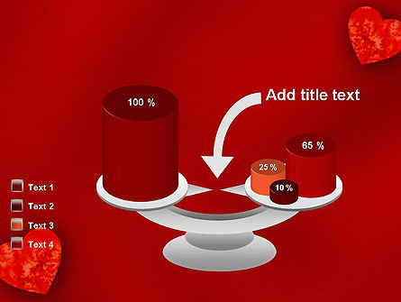 Pair of Hearts PowerPoint Template Slide 10