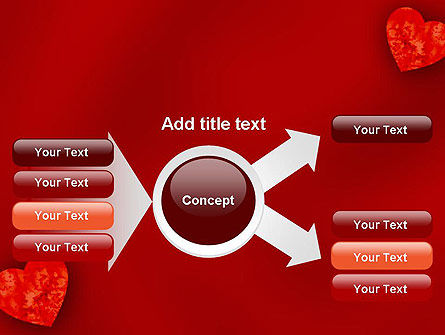 Pair of Hearts PowerPoint Template Slide 14