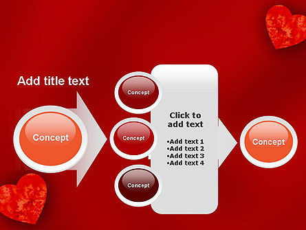 Pair of Hearts PowerPoint Template Slide 17