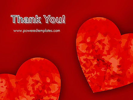 Pair of Hearts PowerPoint Template Slide 20