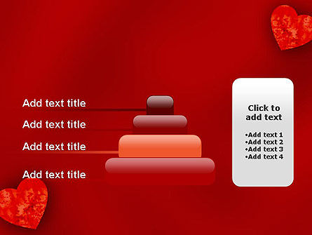Pair of Hearts PowerPoint Template Slide 8
