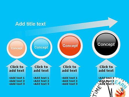 Time to Learn PowerPoint Template Slide 13