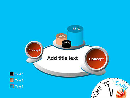 Time to Learn PowerPoint Template Slide 16