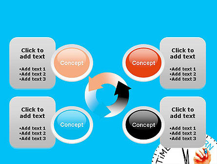 Time to Learn PowerPoint Template Slide 9