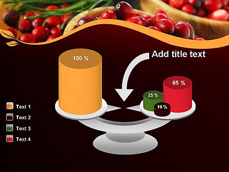 Cranberries PowerPoint Template Slide 10
