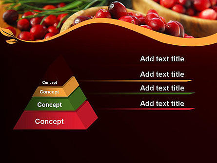 Cranberries PowerPoint Template Slide 12