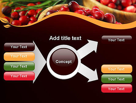 Cranberries PowerPoint Template Slide 14