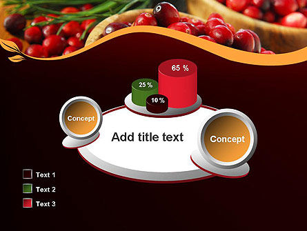 Cranberries PowerPoint Template Slide 16