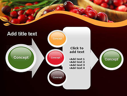 Cranberries PowerPoint Template Slide 17
