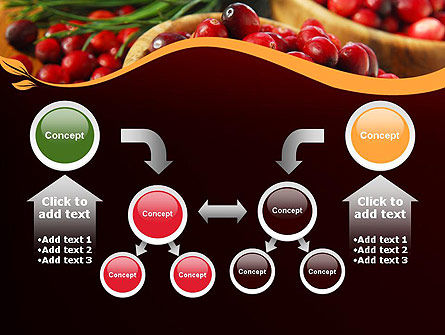 Cranberries PowerPoint Template Slide 19