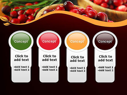 Cranberries PowerPoint Template Slide 5