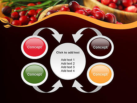 Cranberries PowerPoint Template Slide 6