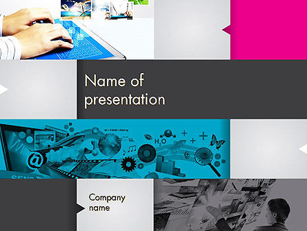 Modern Presentation PowerPoint Template, 11890, Business — PoweredTemplate.com