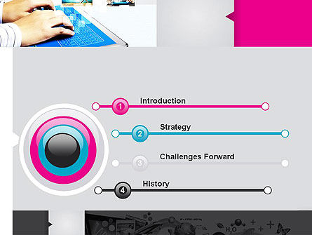 Modern Presentation PowerPoint Template, Slide 3, 11890, Business — PoweredTemplate.com