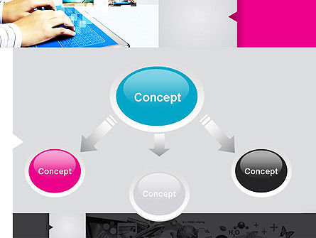 Modern Presentation PowerPoint Template, Slide 4, 11890, Business — PoweredTemplate.com