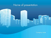 Construction: Urban City PowerPoint Template #11893