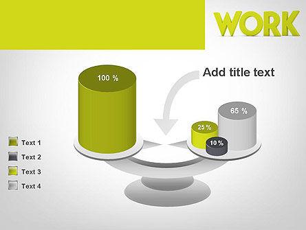 Word WORK PowerPoint Template Slide 10