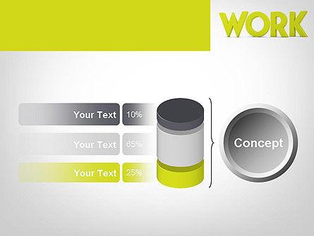 Word WORK PowerPoint Template Slide 11