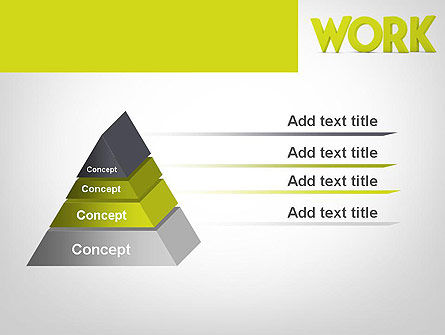Word WORK PowerPoint Template Slide 12