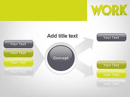 Word WORK PowerPoint Template Slide 14