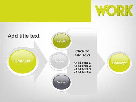 Word WORK PowerPoint Template Slide 17