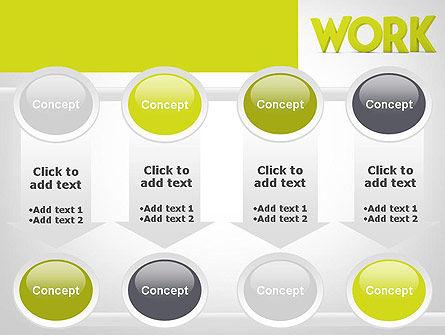 Word WORK PowerPoint Template Slide 18