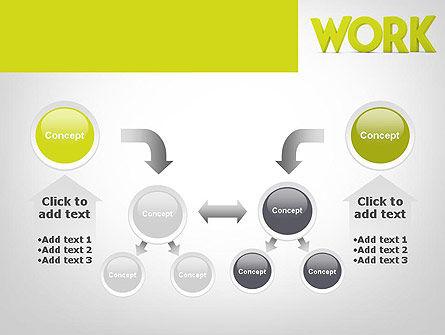 Word WORK PowerPoint Template Slide 19