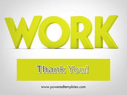 Word WORK PowerPoint Template Slide 20