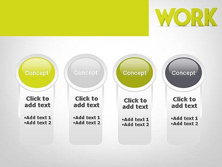 Word WORK PowerPoint Template Slide 5
